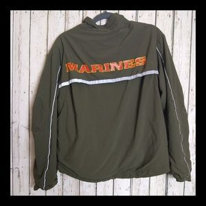 NEW BALANCE • Marines Bomber Jacket • Size S